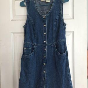 St. John's Bay Denim Dress